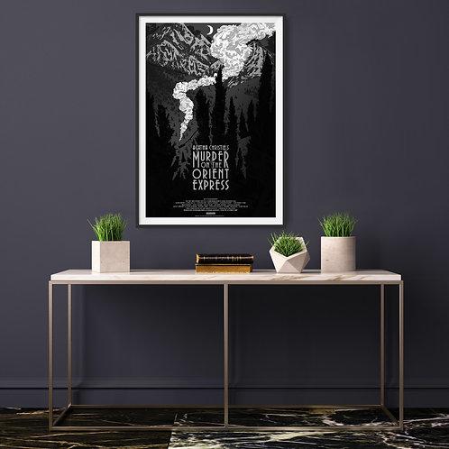 Murder on the Orient Express Framed Poster