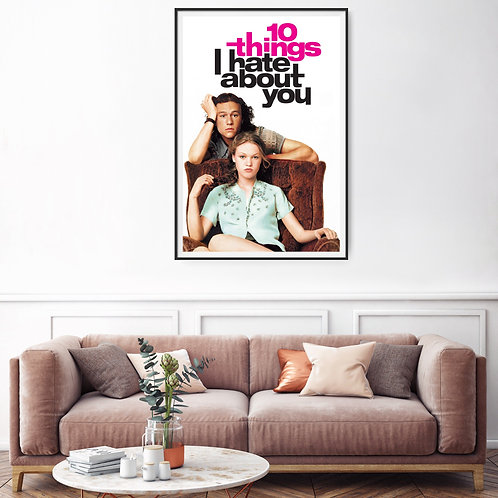 10 Things I Hate About You Framed Poster