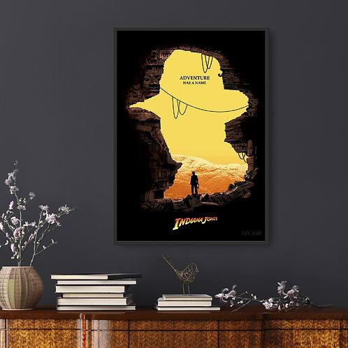 Indiana Jones Framed Poster