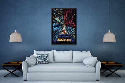 2001 A Space Odyssey Framed Poster