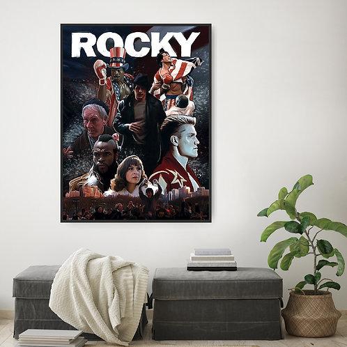 Rocky Framed Poster