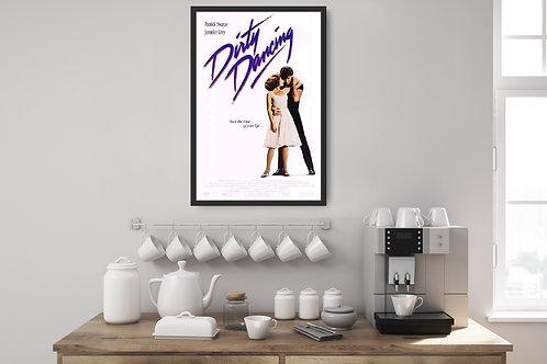 Dirty Dancing Framed Poster