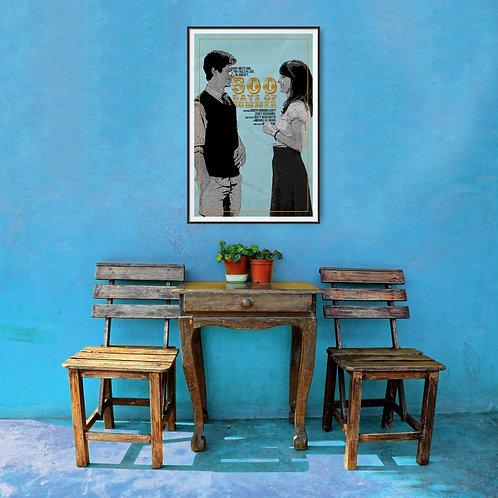 500 Days of Summer Framed Poster