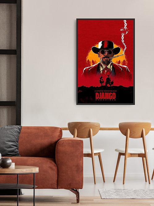 Django Unchained Framed Poster