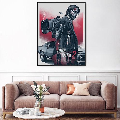 John Wick Framed Poster