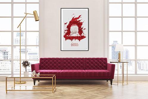 Game of Thrones Framed Poster