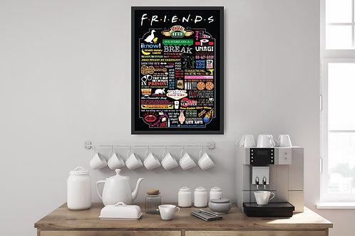 Friends Framed Poster