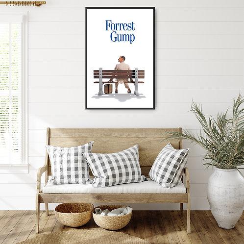 Forrest Gump Framed Poster