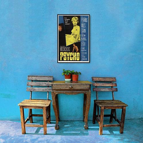 Psycho Framed Poster
