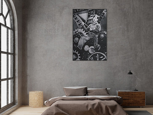 Modern Times Framed Poster