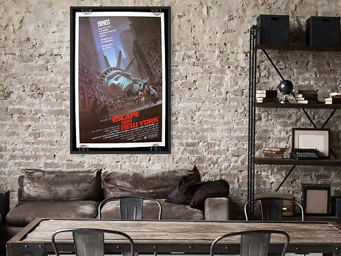 Escape from New York Framed Poster