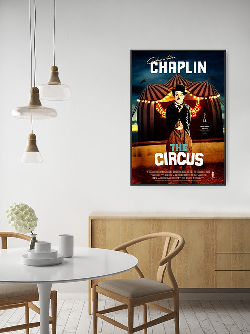 The Circus Framed Poster