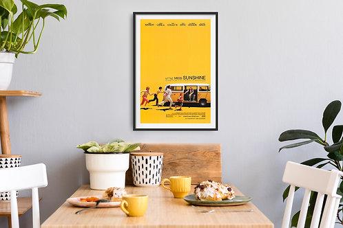 Little Miss Sunshine Framed Poster