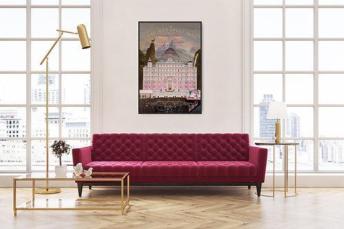 The Grand Budapest Hotel Framed Poster