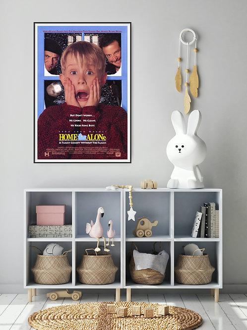 Home Alone Framed Poster