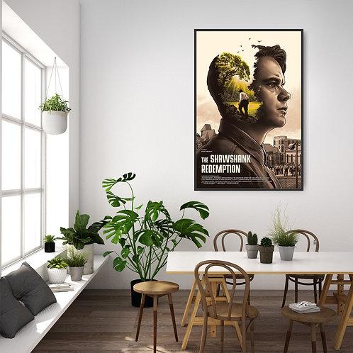 The Shawshank Redemption Framed Poster