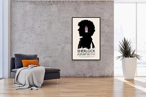 Sherlock Framed Poster