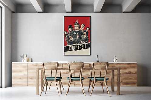 Jojo Rabbit Framed Poster