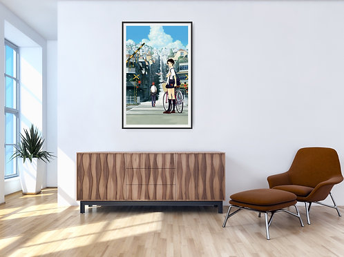 The Girl Who leapt through Time Framed Poster