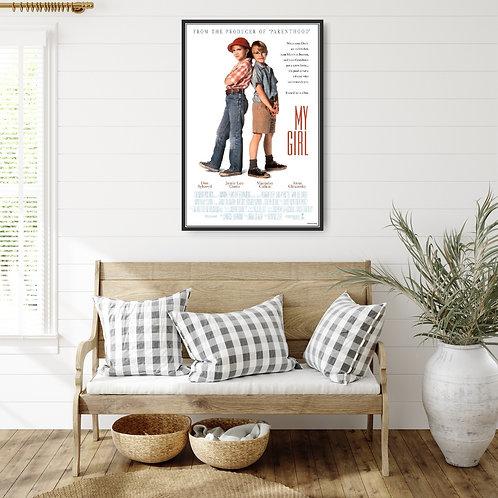 My Girl Framed Poster