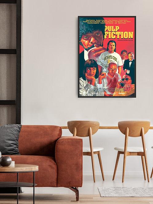Pulp Fiction Framed Poster