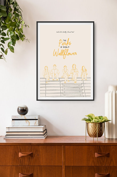 The Perks of being a Wallflower Framed Poster