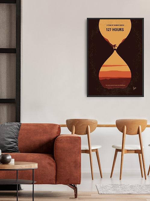 127 Hours Framed Poster
