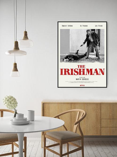 The Irishman Framed Poster