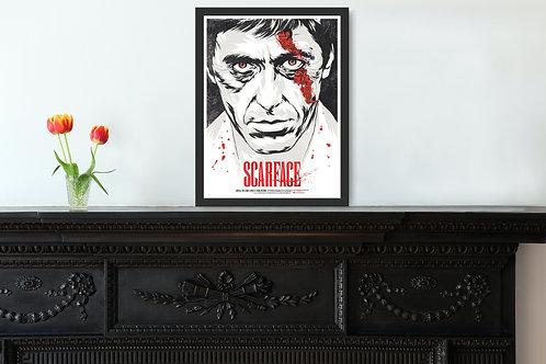 Scarface Framed Poster