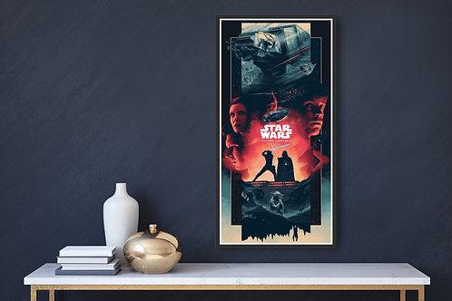 Star Wars: The Empire Strikes Back Framed Poster