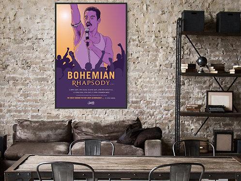 Bohemian Rhapsody Framed Poster