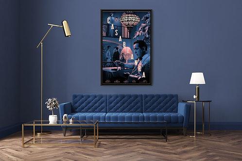 Casablanca Framed Poster