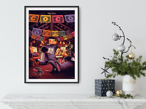 Coco Framed Poster