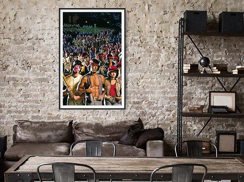 The Warriors Framed Poster