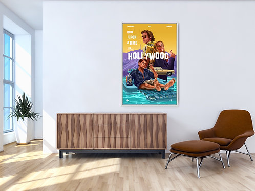 Once Upon a Time in Hollywood Framed Poster