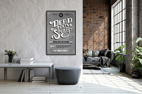 Dead Poets Society Framed Poster