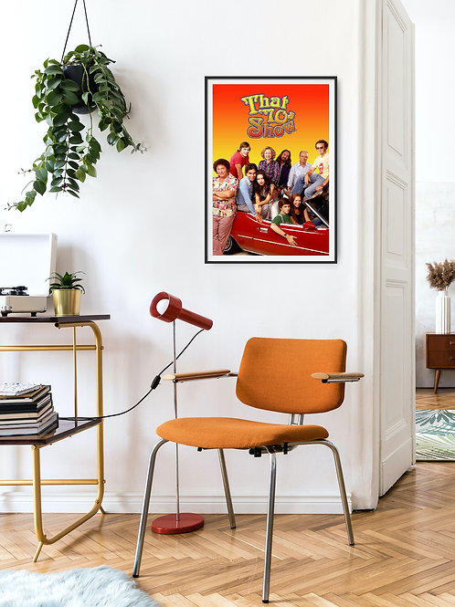 That 70's Show Framed Poster
