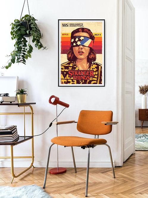 Stranger Things Framed Poster