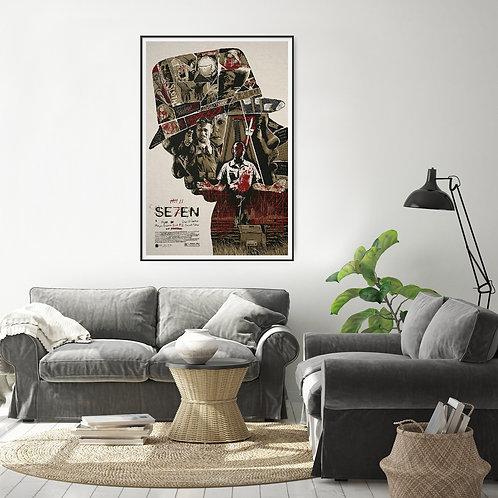 Seven Framed Poster