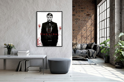 Hannibal Framed Poster
