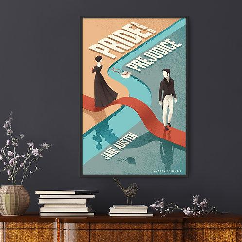 Pride and Prejudice Framed Poster
