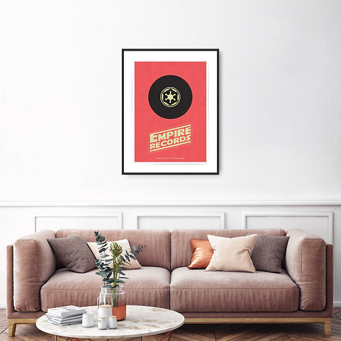 Empire Records Framed Poster