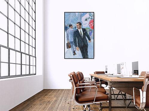 Mad Men Framed Poster
