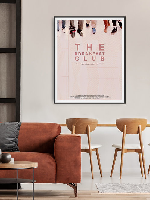 The Breakfast Club Framed Poster