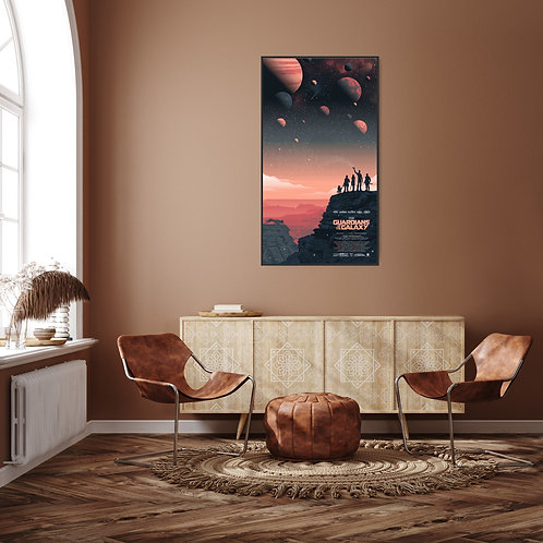 Guardians of the Galaxy Framed Poster