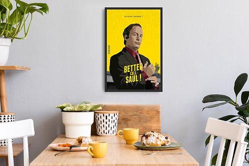 Better Call Saul Framed Poster