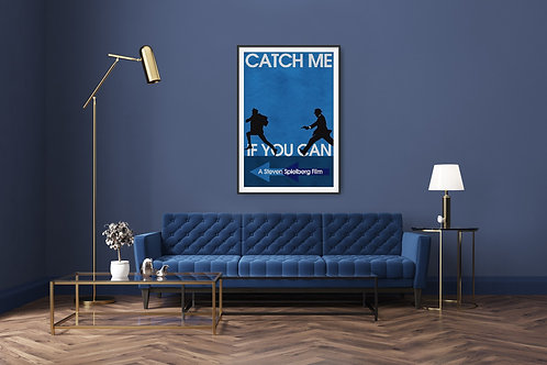 Catch Me If You Can Framed Poster