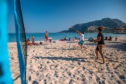 Beach Tennis a Mondello