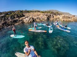Escursione in stand up paddle sicilia