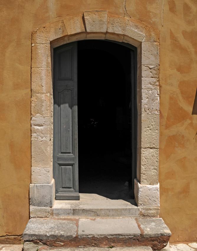 Slate Bue Door